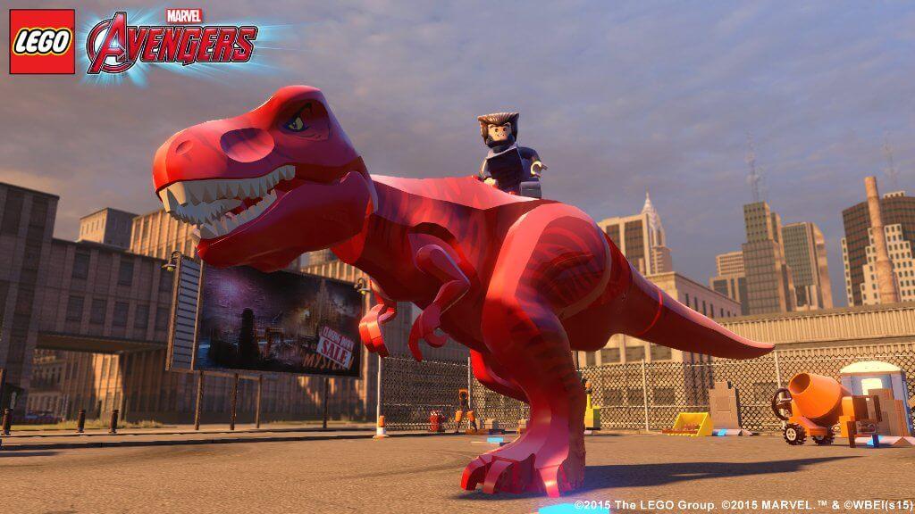 Новый игровой персонаж в Лего Мстители