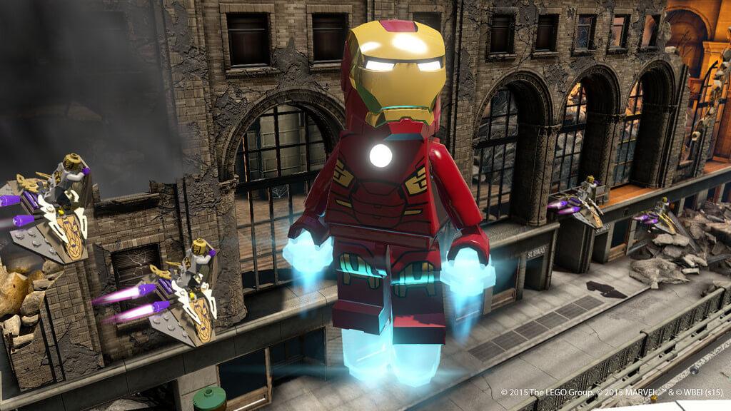 Новый Железный Лего человек