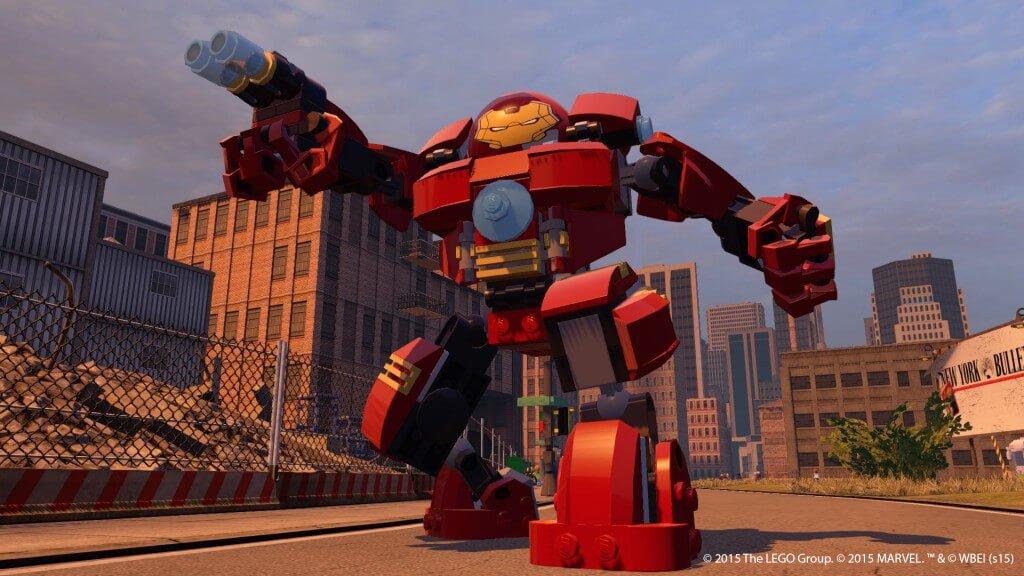 Большой Железный Лего человек