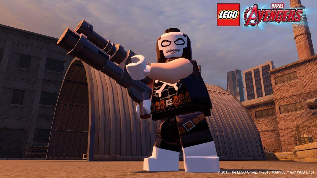 Новый Персонаж из Лего Мстители