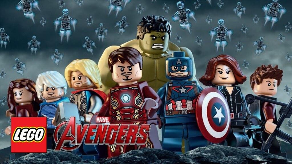 Лего Марвел Мстители