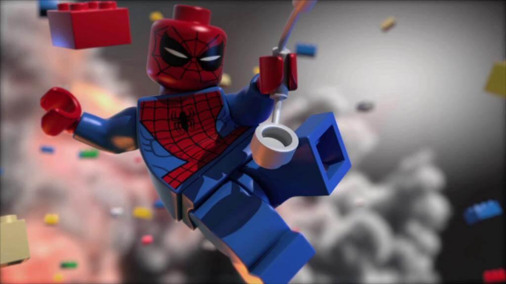 Лего Паук и его паутинка