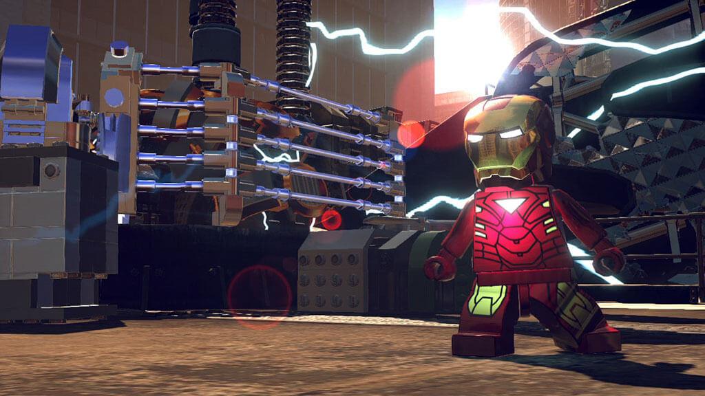 Железный Лего человек