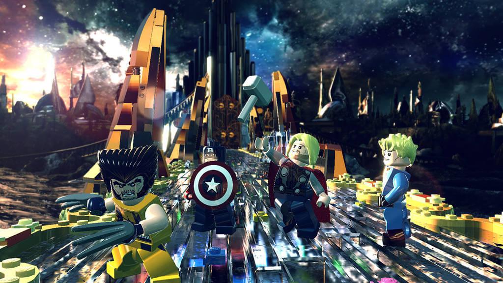 Герои из Лего
