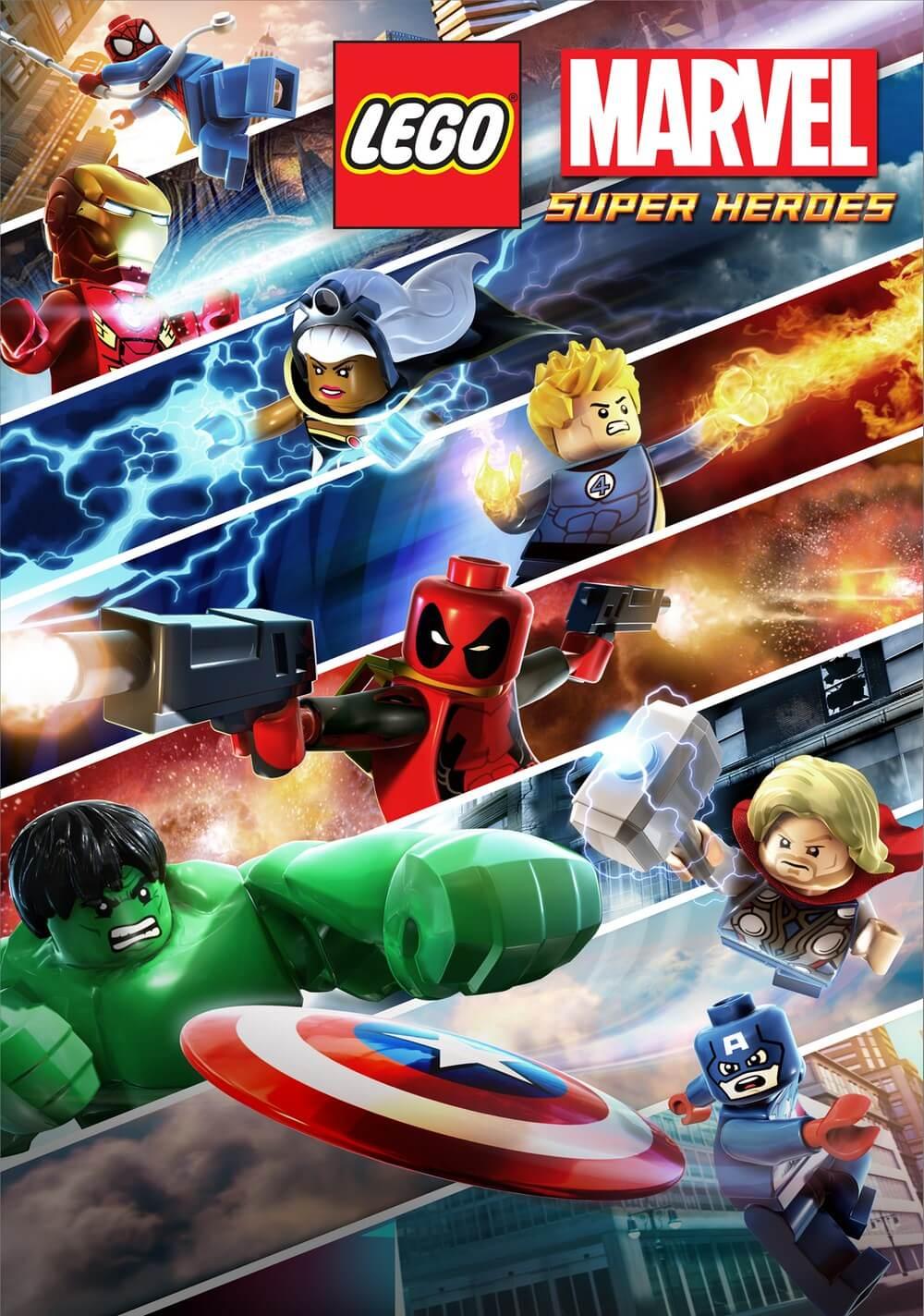 Лего Марвел Супер Герои