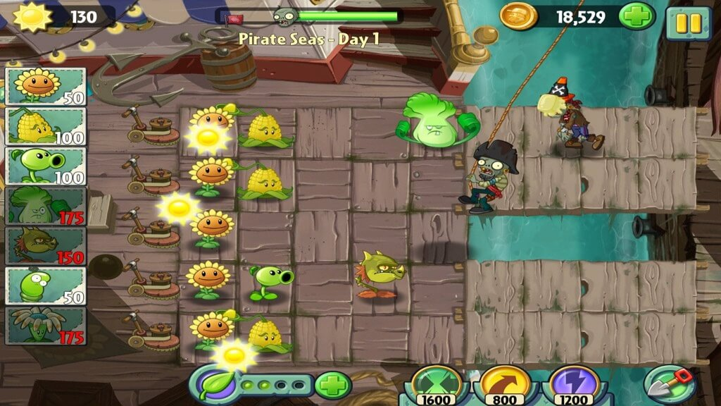 Plants vs Zombies 2 в атаку!