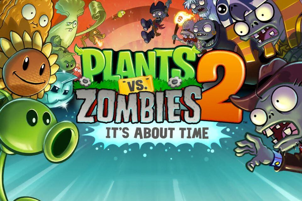 Plants vs Zombies 2 It s About Time
