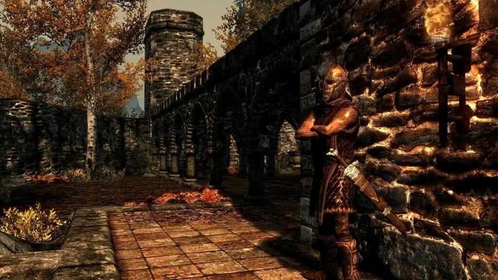 Мрачные постройки и стражники